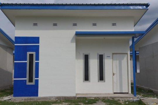 50 unit hunian tetap diserahkan untuk korban banjir Luwu Utara