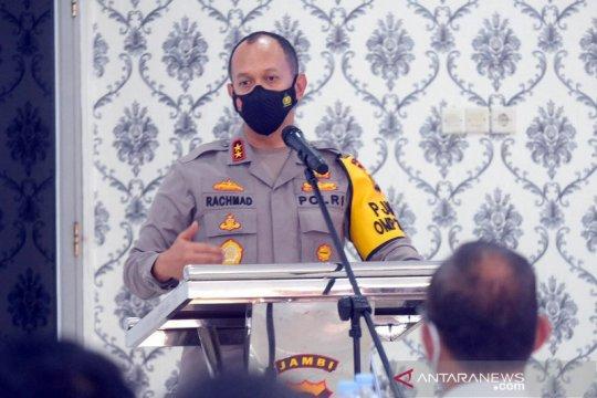Kepala Polda Jambi pimpin rapat evaluasi penanganan kejahatan