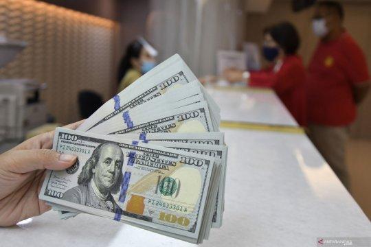 Dolar lanjutkan penguatan saat harapan stimulus hentikan taruhan