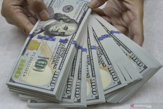 Sentimen risiko berkurang, dolar menguat di atas tertinggi 4 bulan