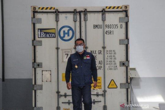 Peninjauan gudang vaksin COVID-19 di Jabar