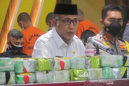 Gubernur Aceh: Penegakan hukum pelaku narkoba harus tegas