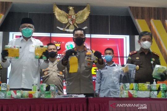 Polda Aceh gagalkan peredaran 61 kilogram sabu-sabu