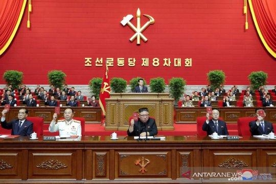 Kim Jong Un akhiri kongres partai dengan pertunjukan seni massal