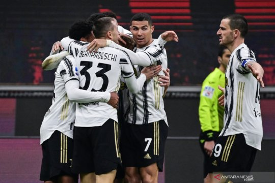 Juventus paksa Milan derita kekalahan perdana di Liga Italia musim ini