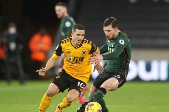 Wolverhampton kehilangan Danil Podence karena cedera betis