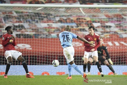 Manchester City tantang Tottenham di final Piala Liga usai lewati MU