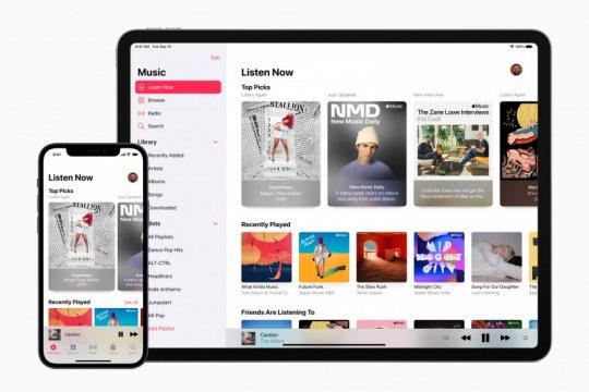 Layanan Apple pecahkan rekor pendapatan, optimistis pada 2021