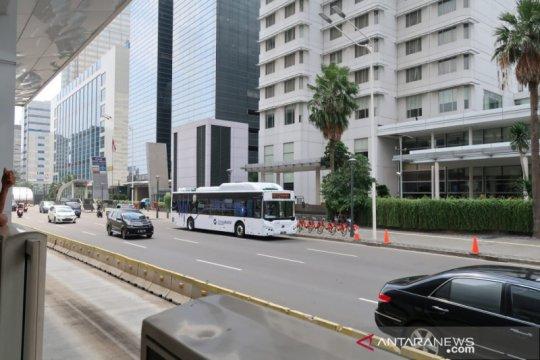 TransJakarta belum ada kerja sama dengan bus listrik Higer
