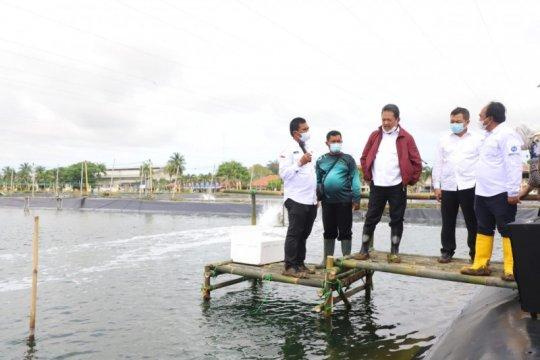 Menteri Kelautan resmikan pembangunan 13 klaster tambak udang Karawang