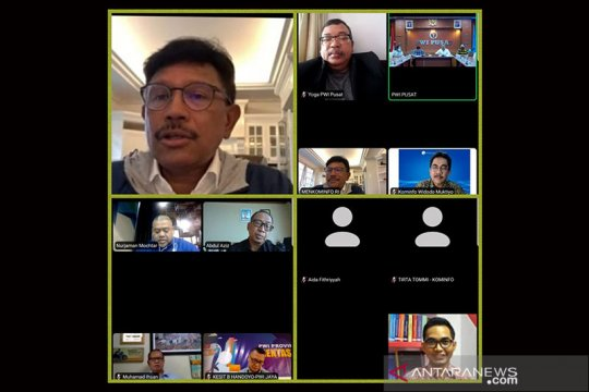 Menkominfo sarankan HPN 2021 full digital