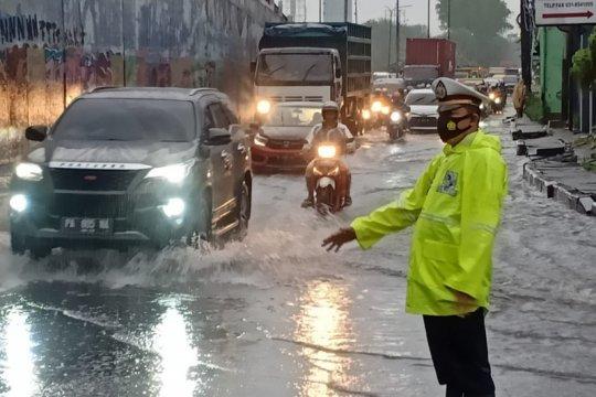 Sejumlah wilayah di Sidoarjo tergenang banjir