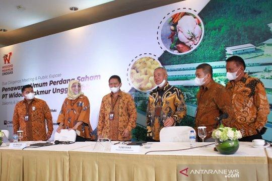 Perusahaan ternak ayam Widodo Makmur Unggas segera melantai di bursa