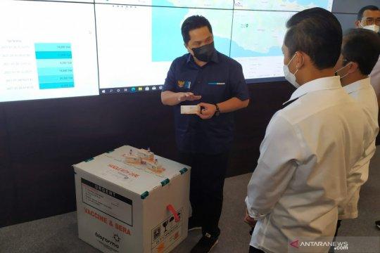 Erick Thohir minta kepala daerah pastikan penyimpanan vaksin tak gagal