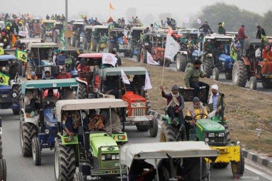 Protes petani di India