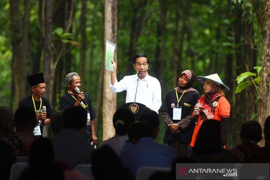 Pastikan SK lahan produktif, Presiden Jokowi: Saya akan cek terus