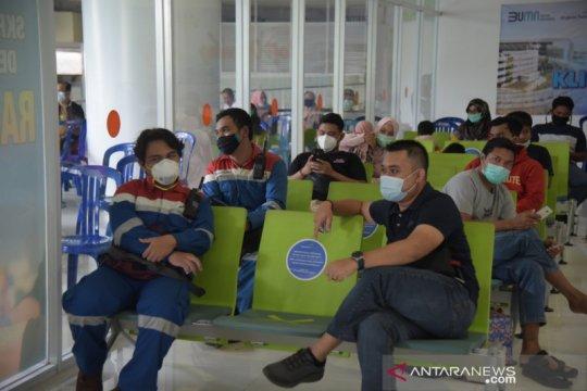 Jelang libur penumpang Bandara Sepinggan capai puncak 12.063 orang