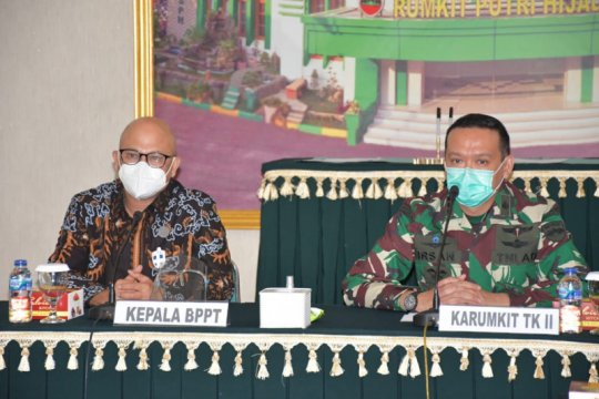 BPPT serahkan bantuan 1.000 Kit Reagen ke Rumkit Putri Hijau Medan