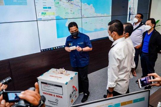 Erick Thohir perintahkan Bio Farma dukung program vaksinasi