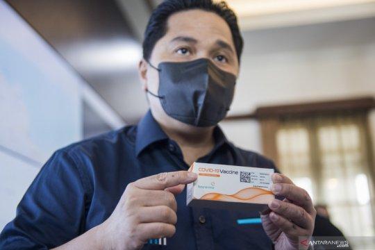 Erick: BPOM telah sertifikasi produksi 100 juta vaksin Covid Bio Farma
