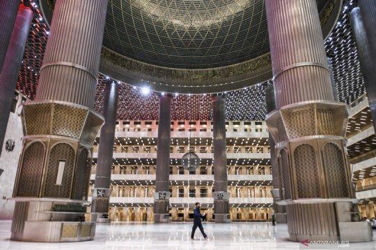 Presiden Jokowi resmikan renovasi masjid Istiqlal