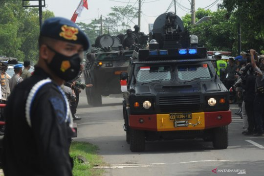 Sinergi TNI dan Polri menjaga NKRI