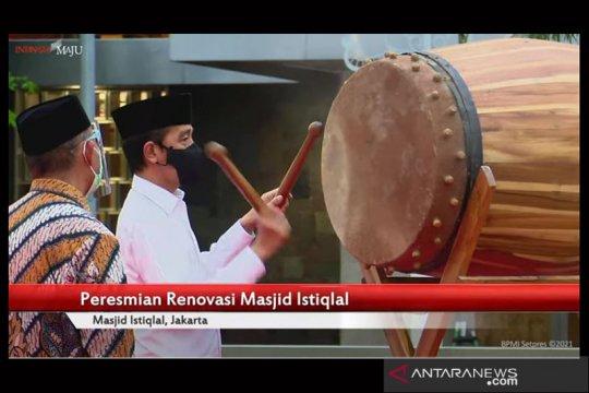 Presiden: Renovasi masjid Istiqlal bukan untuk gagah-gagahan