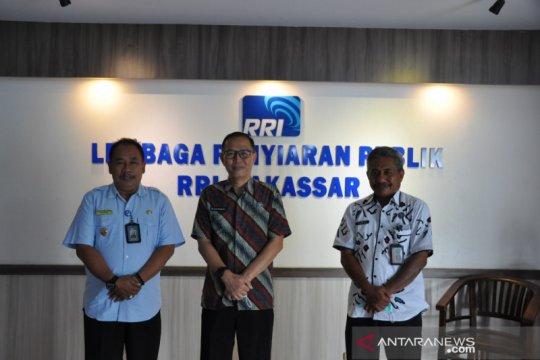 BNNP Sulsel menggandeng RRI Makassar sosialisasikan bahaya narkoba