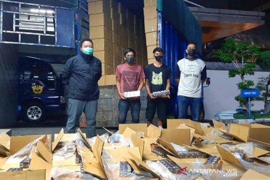 Bea Cukai Jateng-DIY cegah pengiriman 2,3 juta rokok ilegal