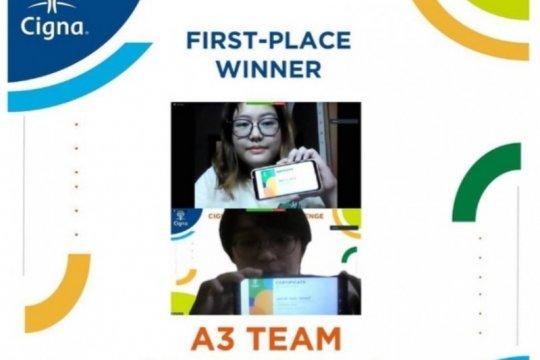Tim mahasiswa FMIPA UI raih juara pertama Cigna Innovation Competition