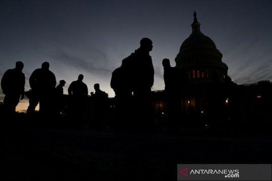 Situasi Capitol Hill usai penyerbuan pendukung Donald Trump