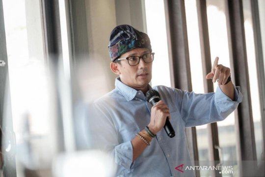 Sandiaga Uno dukung pembatasan kegiatan Jawa Bali demi tekan COVID-19