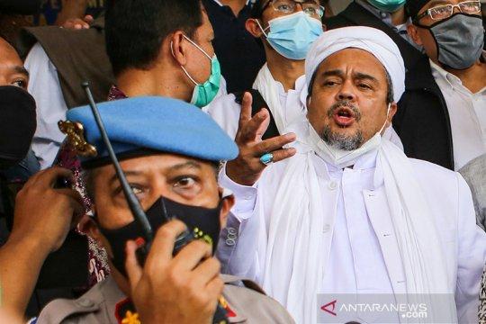 Jadi tersangka kasus RS UMMI Bogor Rizieq terancam pasal berlapis