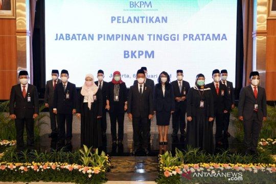 Bahlil lantik 13 pejabat pimpinan tinggi pratama BKPM