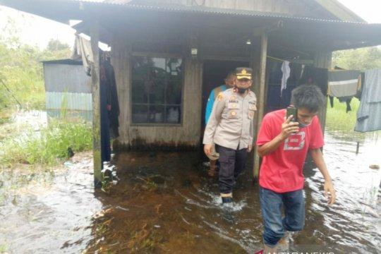 Empat RT tergenang banjir di perbatasan Banjarbaru dan Tanah Laut