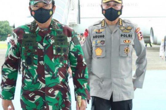 Panglima TNI berangkat ke Papua usai hadiri penyematan Brevet Kapolri