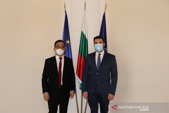Tiba di Sofia, Dubes RI temui deputi menlu Bulgaria