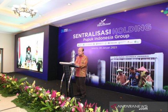 Pupuk Indonesia terapkan sentralisasi fungsi holding