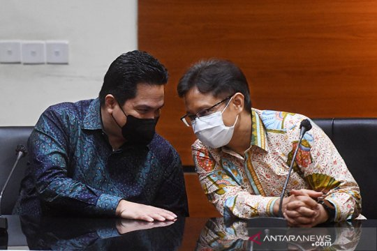 "Erick Thohir: Vaksin merah putih bisa jadi ""game changer"""