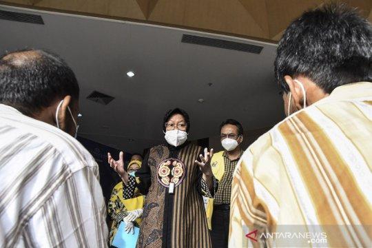 Mensos Tri Rismaharini kunjungi Balai Rehabilitasi Eks Gelandangan dan Pengemis