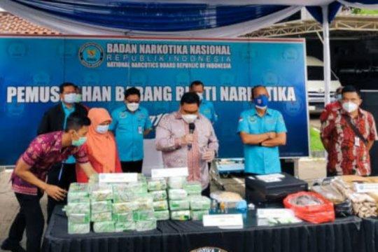 BNN sita aset bandar narkoba Kampung Ambon senilai Rp25,52 miliar