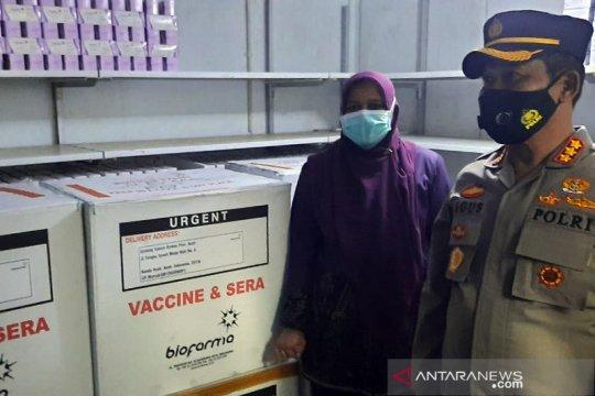Polda Aceh siapkan tim khusus pengamanan vaksin COVID-19