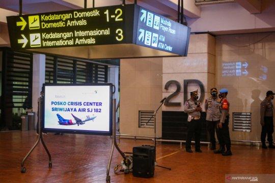 Crisis center Sriwijaya Air di Bandara Soetta