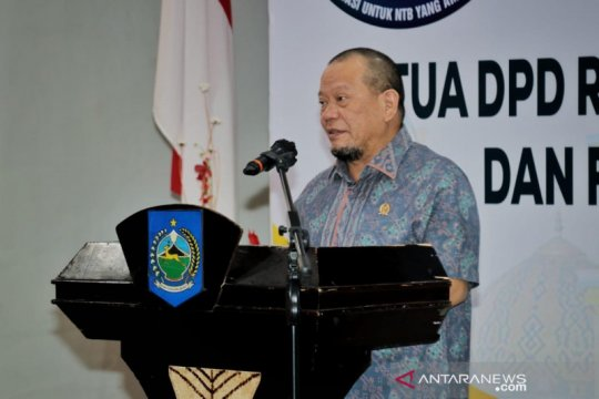Ketua DPD ajak masyarakat bersatu padu dukung gerakan vaksinasi
