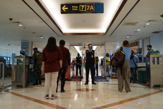 Bandara Juanda layani 6,8 juta penumpang selama 2020