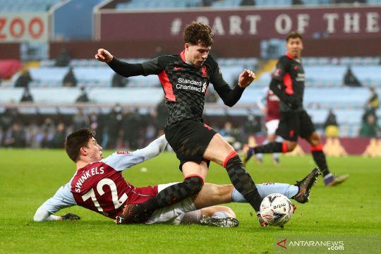 Piala FA: Liverpool menang telak atas Aston Villa