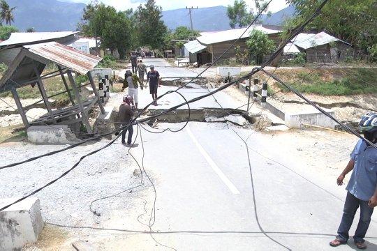 1.317 gempa terjadi di Sulteng, Sesar Palu Koro mendominasi