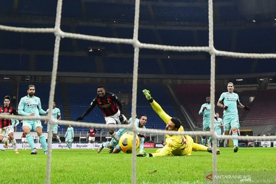 AC Milan kembali ke jalur kemenangan usai pukul Torino 2-0