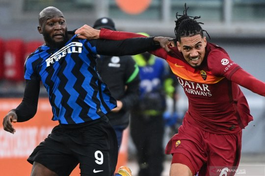 AS Roma kontra Inter Milan berakhir imbang 2-2