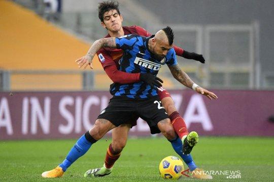 Fonseca sebut Roma kehilangan intensitas saat diimbangi Inter